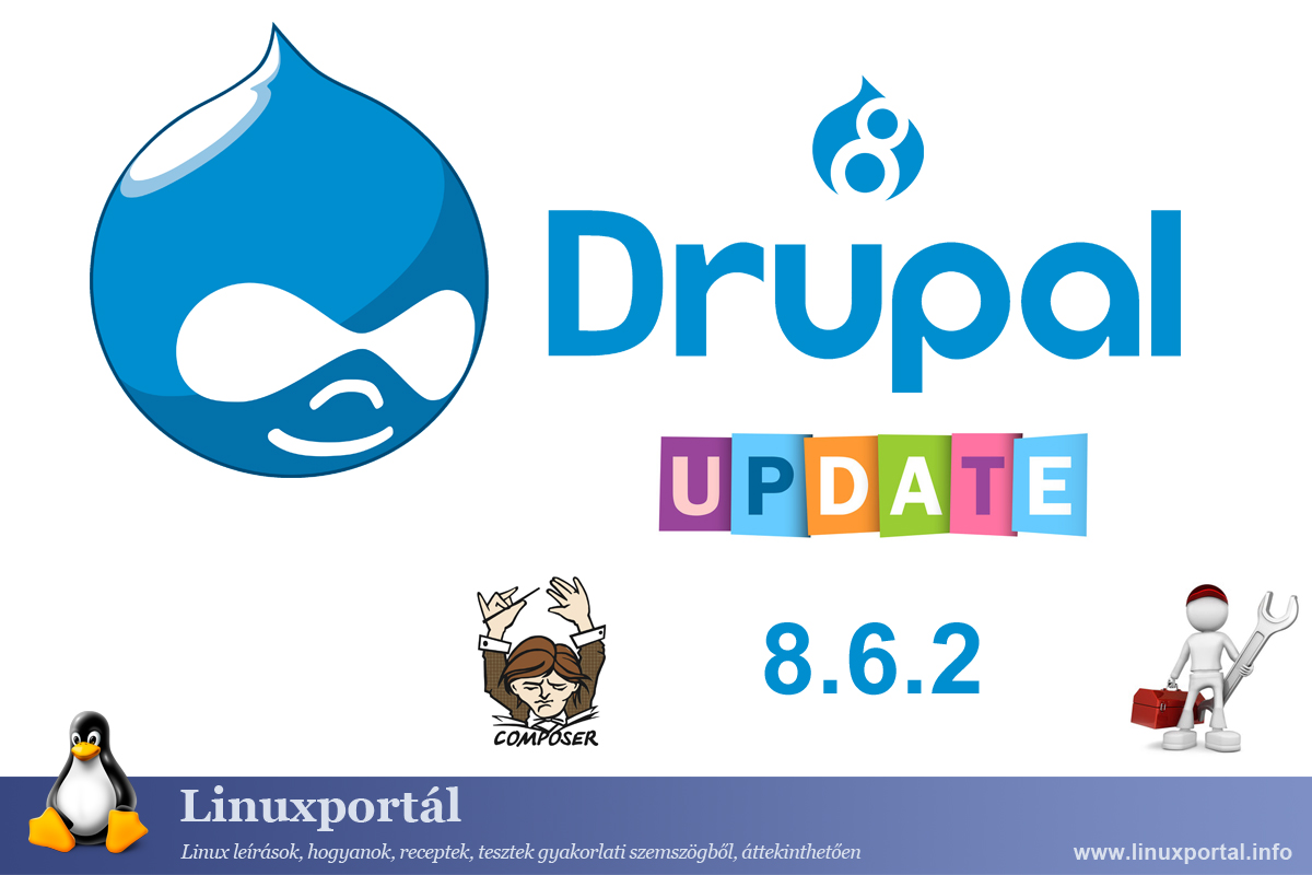 Upgrading the Drupal 8 base system to 8.6.2
