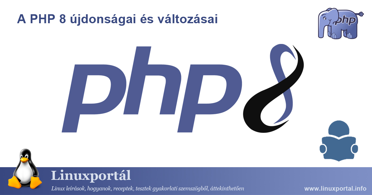 What's New and Changes in PHP 8 Linux portal