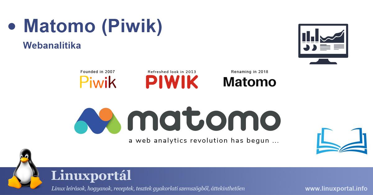 Matomo (Piwik) web analytics Linux Portal