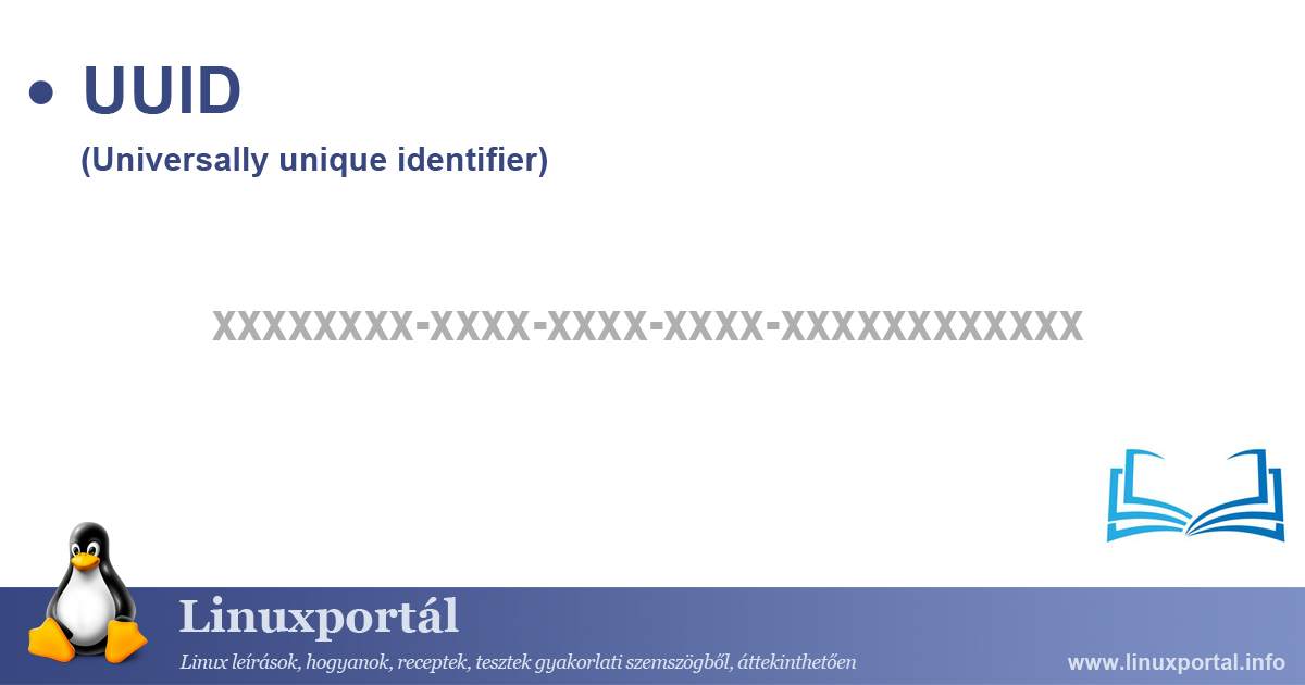 UUID (Universally unique identifier) | Linux Portal