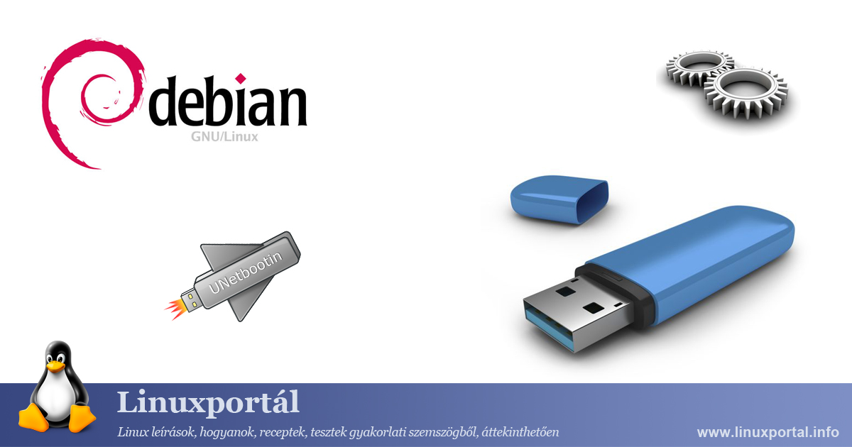Creating a bootable flash drive on Debian Linux Portal