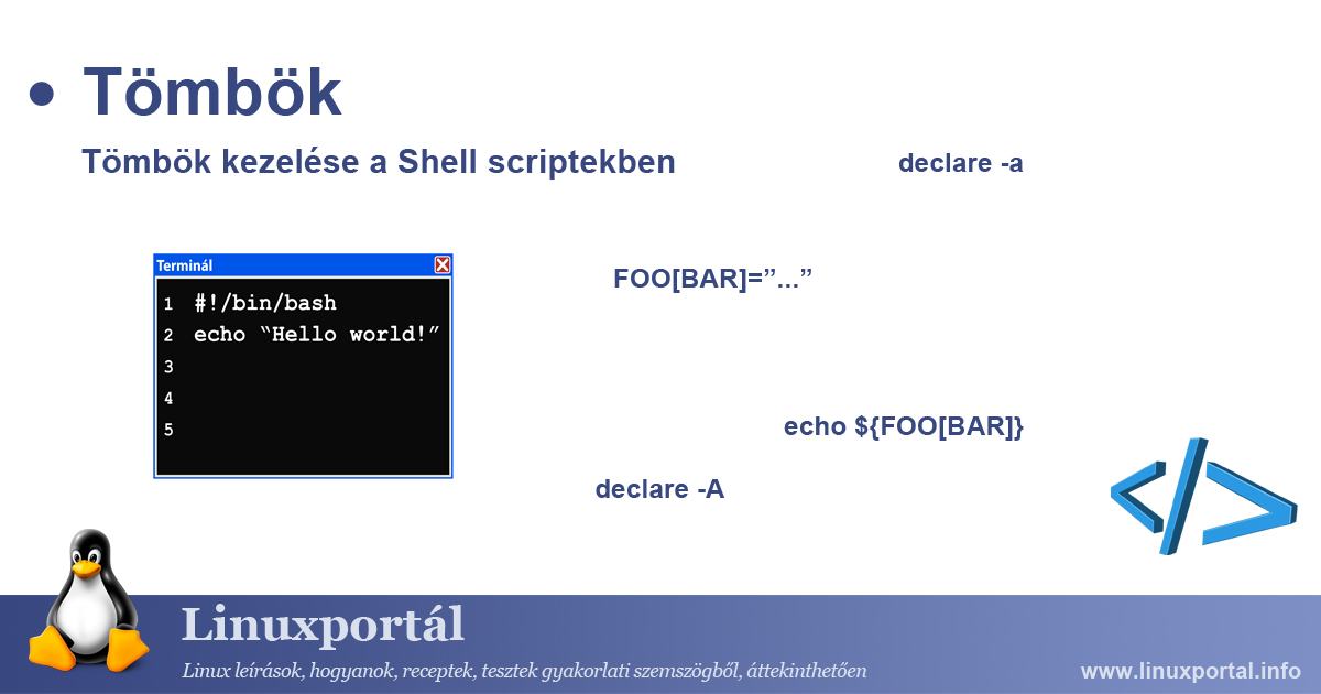 Managing Arrays in Shell Scripts Linux Portal