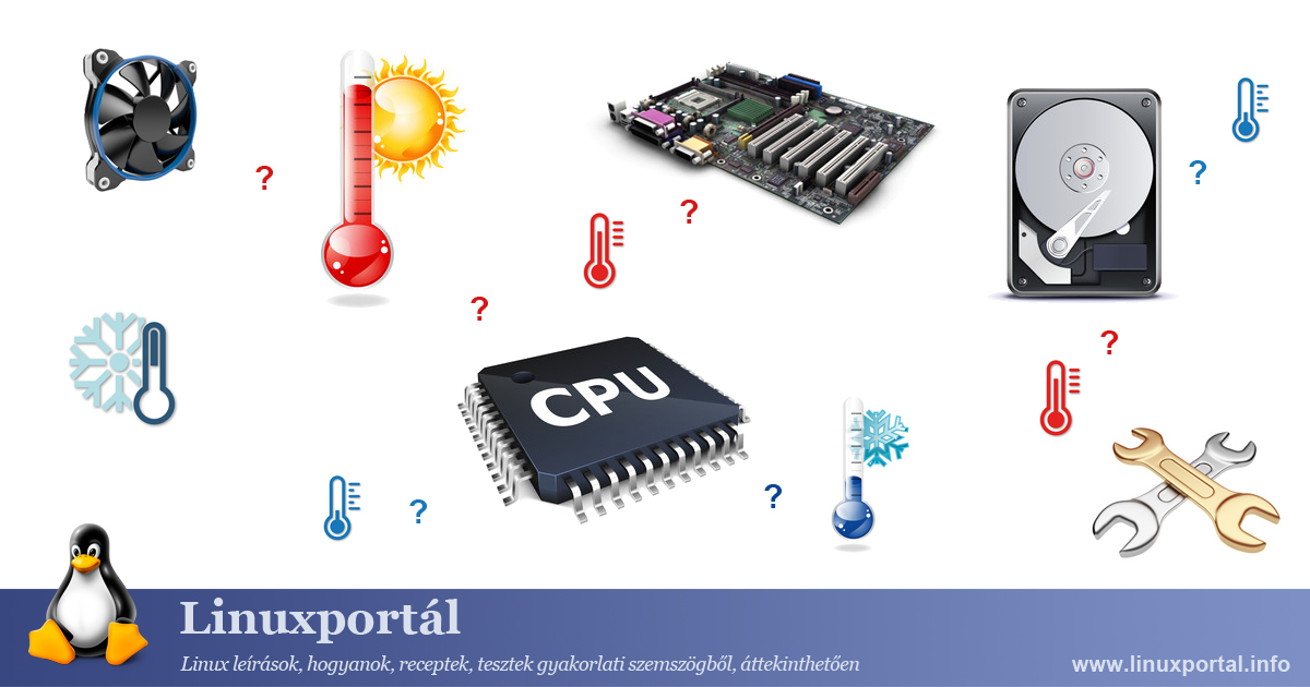 Temperature measurement of computer hardware Linux Portal
