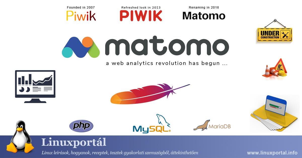 Install Matomo Web Analytics on Apache Web Server Linux Portal