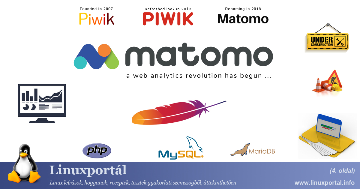 Installing Matomo Web Analytics on Apache Web Server (page 4) | Linux Portal