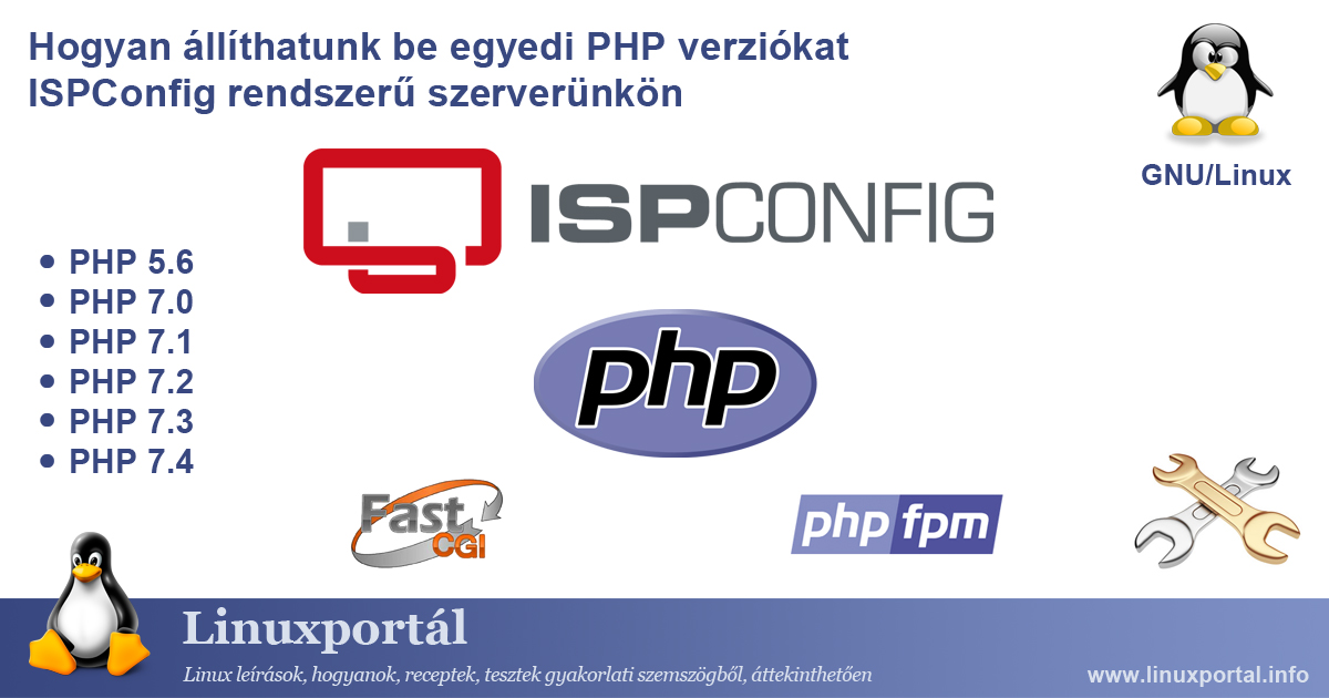 How to configure custom PHP versions on our ISPConfig server | Linux Portal