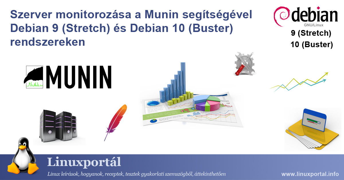 Server Monitoring with Munin on Debian 9 (Stretch) and Debian 10 (Buster) Linux Portal