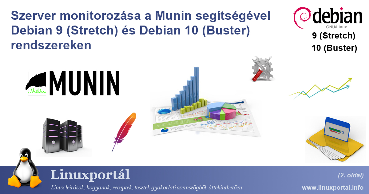 Server Monitoring with Munin on Debian 9 (Stretch) and Debian 10 (Buster) (page 2) | Linux Portal