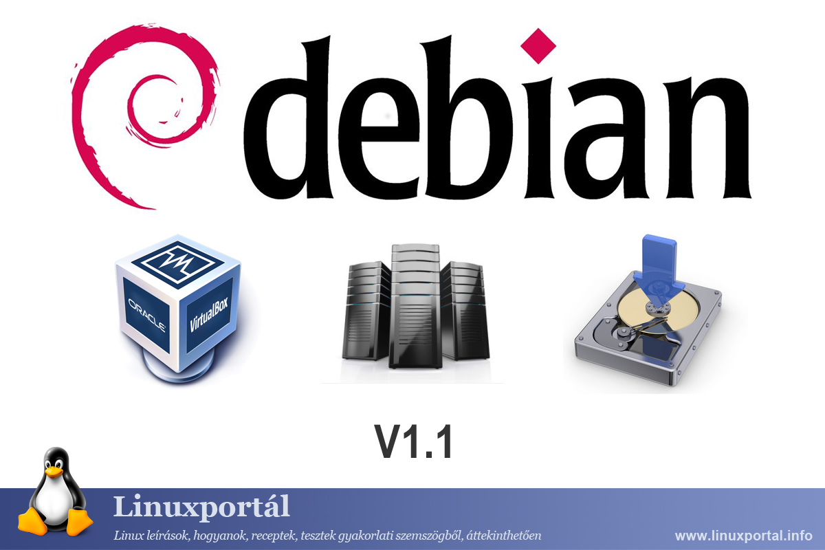 Debian 8 Perfect Server Download 1.1 as VirtualBox image file