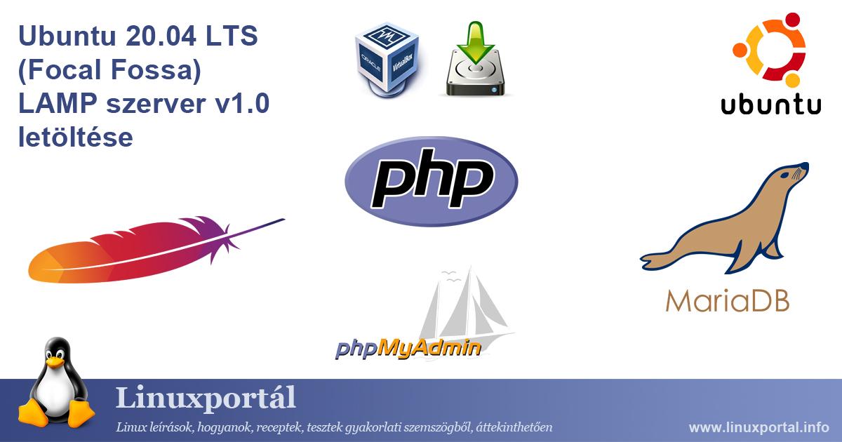 Ubuntu 20.04 LTS (Focal Fossa) LAMP Server v1.0 Download Linux portal
