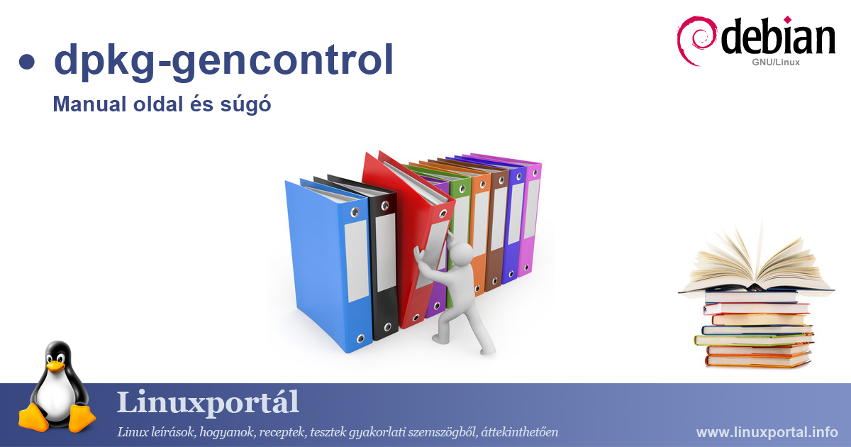 Manual page and help for the dpkg-gencontrol linux command | Linux portal