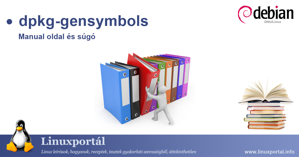 Manual page and help for the dpkg-gensymbols linux command | Linux portal