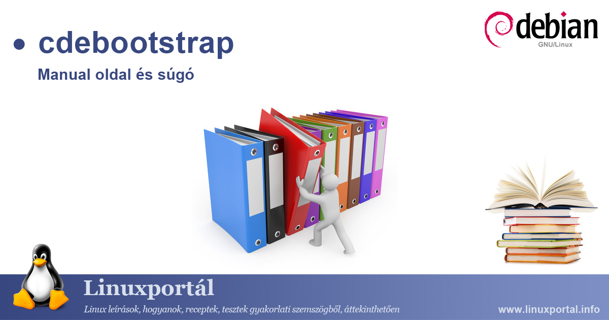 Manual page and help for the cdebootstrap linux command Linux portal
