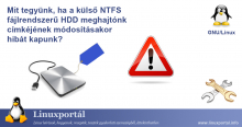 What to do if you get an error changing the label on your external NTFS file system HDD | Linux Portal