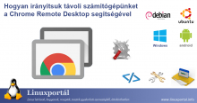 How to control your remote computer with Chrome Remote Desktop Linux Portal