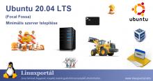 Ubuntu 20.04 LTS (Focal Fossa) Minimal Server Installation Linux portal