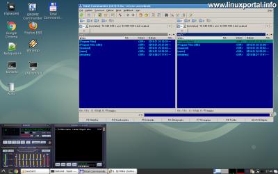Wine - Total Commander és Winamp futtatása Debian rendszeren