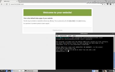 Friss webtárhely az ISPConfig alatt, és a webfiókhoz kapcsolódó shell felhasználói terminál