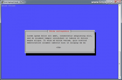 Whiptail - Görgethető textbox bemutatása