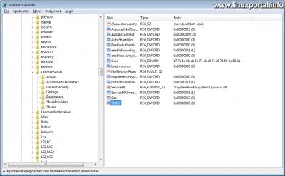 Windows - Regedit: SMB Megosztási hiba javítása