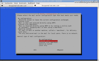 Debian 9 (Stretch) - Tökéletes szerver telepítése - Postfix általános konfiguráció
