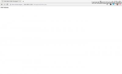 Apache2 - PHP fájl tesztelése a felhasználói webkönyvtárban