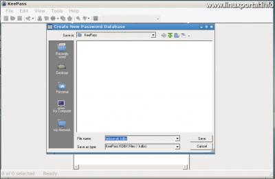 KeePass - Új jelszó adatbázis létrehozása