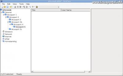 KeePass - Kategóriák létrehozása és egymásba ágyazása