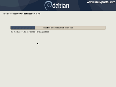 Debian 10 (Buster) minimális szerver telepítése - További összetevők telepítése