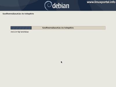 Debian 10 (Buster) minimális szerver telepítése - Szoftver választás és telepítés