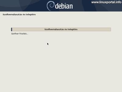 Debian 10 (Buster) minimális szerver telepítése - További szoftverek telepítése