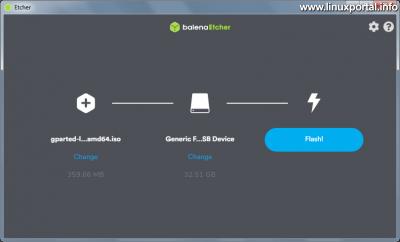 balena Etcher Windows - Pendrive kiválasztása
