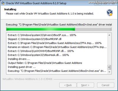 VirtualBox - Guest Additions telepítése Windows vendég gépre
