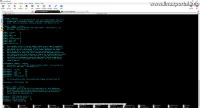 A /etc/gai.conf fájl szerkesztése